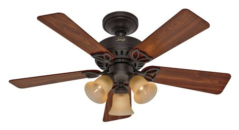 amazon com ceiling fans hunter 20438 beacon hill 42 inch 3 light 5 blade ceiling