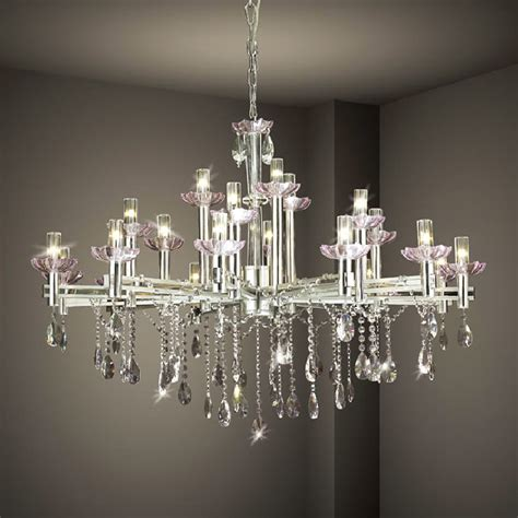 collection  large contemporary chandeliers