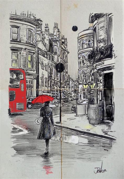 london drawing  loui jover saatchi art