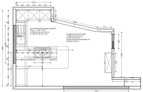plan de cuisine centrale surface d 39 une cuisine avec ilot 29 messages