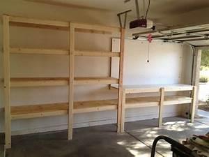 Pretty Design Diy Garage Shelving Ideas 2x4 Unit Systems