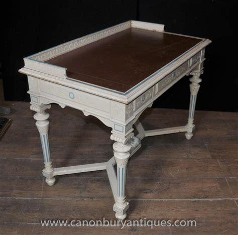 bureau napoleon napoleon desk writing table bureau painted shabby chic