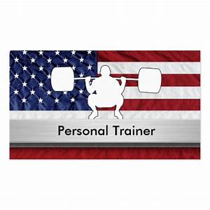 Best personal trainer gifts t shirts art posters for Best personal trainer business cards
