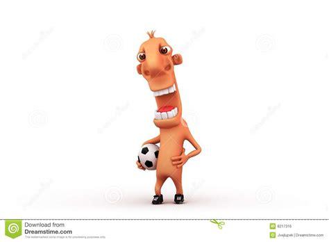 Cartoon Football Player Stock Illustration. Image Of