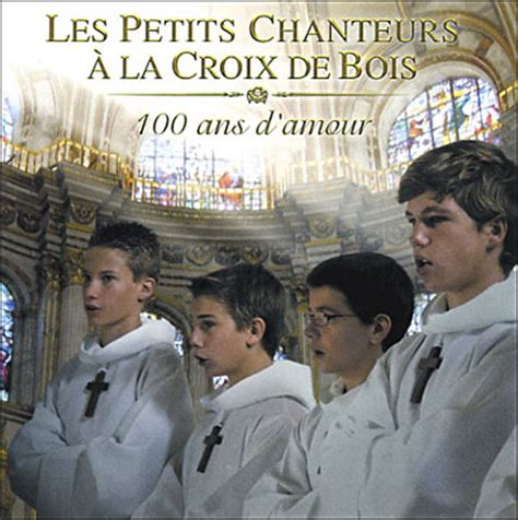 singer boys les petits chanteurs a la croix de bois pccb