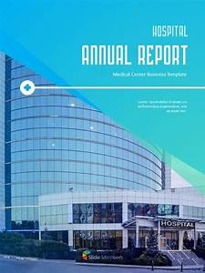 Hospital Business Annual Report Ppt Background Images