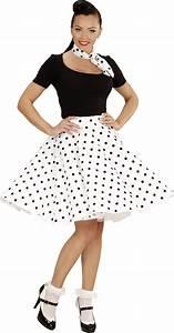 Mode Femme Année 50 : jupe pois ann es 50 femme pas cher d ~ Farleysfitness.com Idées de Décoration