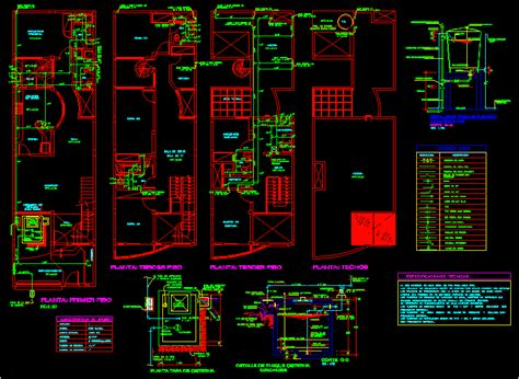 water supply houses dwg block  autocad designs cad