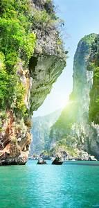 Naturaleza Catarartas Islas Wallpaper - [720x1520]