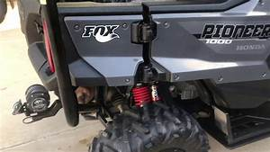 Honda Pioneer 1000 Rear Fox Shocks Update