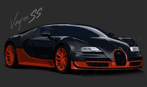 Bugatti Veyron Super Sports By Cappunyan On Deviantart