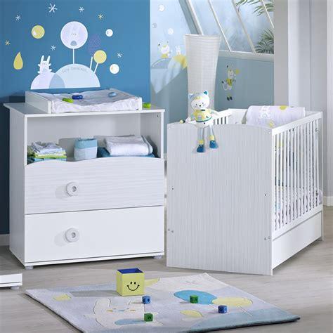 commode chambre bébé chambre bébé duo nino lit commode de sauthon meubles sur