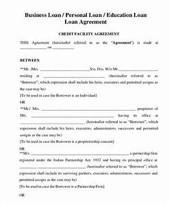 general loan agreement template for personal or business With private money lending documents