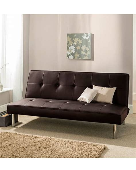leather click clack sofa bed sienna faux leather click clack sofa bed jacamo
