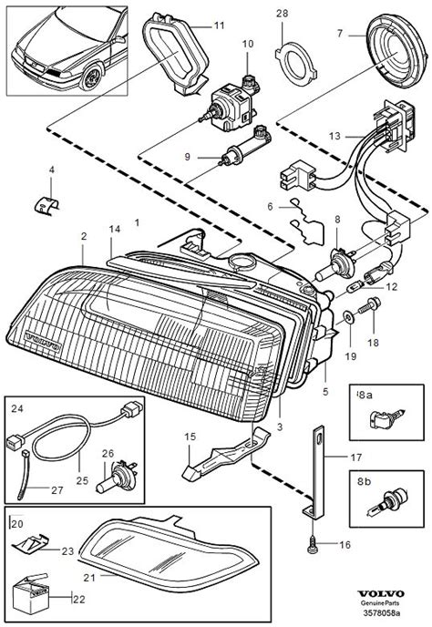 volvo s40 headlight wiring harness diagram get free