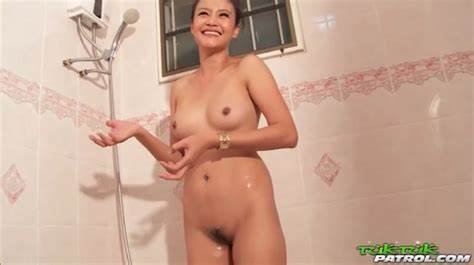 Adorable Chinese Washes Her Figure Cutie Plump Thai Washes Her Curves In Sauna