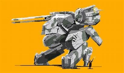 Pixel Gear Metal Solid Rex Snake Espionage