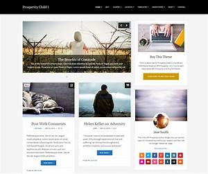 premium wordpress themes wp prosperity With what wordpress template is this