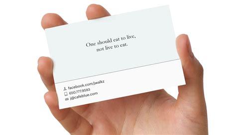 nos cartoes de visita posso fazer referencia ao endereco