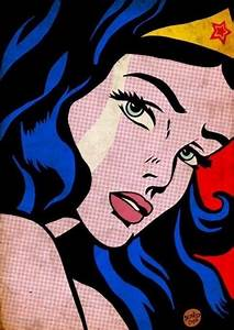 Pop Art Wonder Woman | ILLUSTRATIONS | Pinterest | Pop art ...