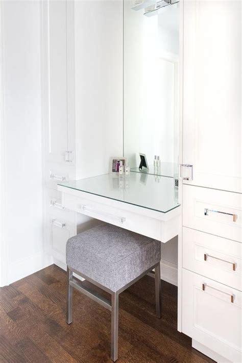 makeup vanity  gold tassel mirror traditional closet