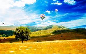 Landscape, Sky, Hot, Air, Balloons, Wallpapers, Hd, Desktop, And, Mobile, Backgrounds