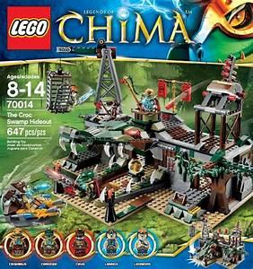 LEGO Chima Croc Swamp Hideout 70014 Summer 2013 Set ...