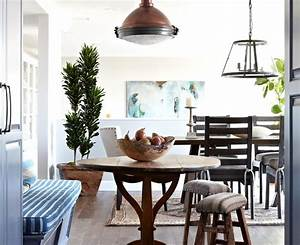 Magnificent abstract painting Shabby chic Dining Room