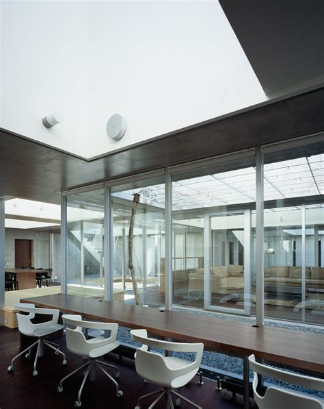 Dachluke Haus by Gallery Of Square Skylight House Nks Architects 5