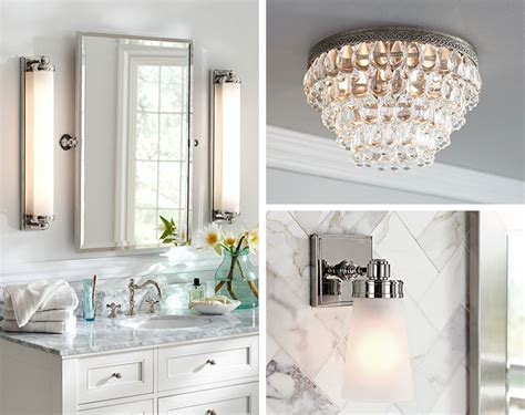 Used Bathroom Fixtures by How To Perfectly Light Your Bathroom Pottery Barn