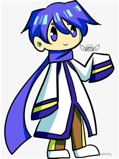 kaito sticker sticker by quimmy redbubble