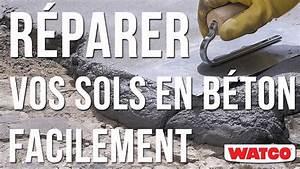 Comment réparer un sol en béton ? Mortier de réparation béton YouTube