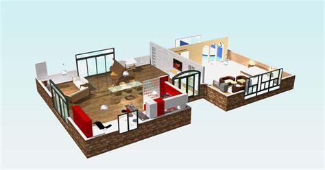 plan de magasin en 3d plan maison contemporaine en 3d