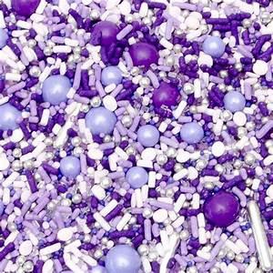Sprinkle Pop Sprinkle Mix - Perfectly Purple