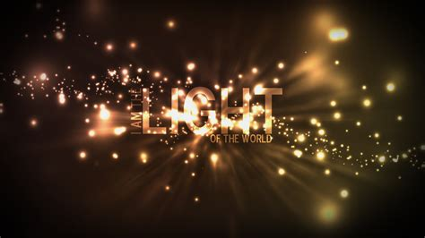 the world of lights the light of the world tony anthony