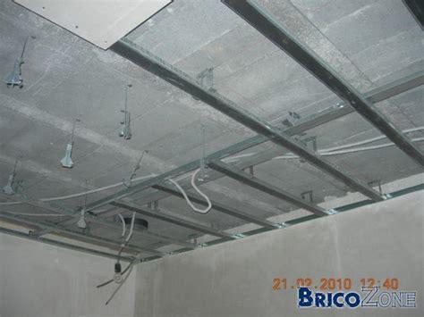 faux plafond dans cuisine