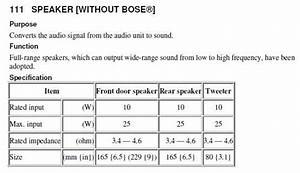2010 Mazda 3 Speaker Wiring Diagram Tweeter Site