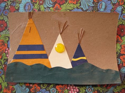 teepee craft  silly eagle books  flickr indian