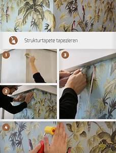Fenster Tapezieren Anleitung : strukturtapete tapezieren anleitung ~ Lizthompson.info Haus und Dekorationen