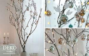 Basteln Mit ästen Und Zweigen : diy mein last minute weihnachtsbaum strauch deko kitchen ~ Whattoseeinmadrid.com Haus und Dekorationen