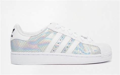 Adidas Superstar Rainbow Metallic Stripes