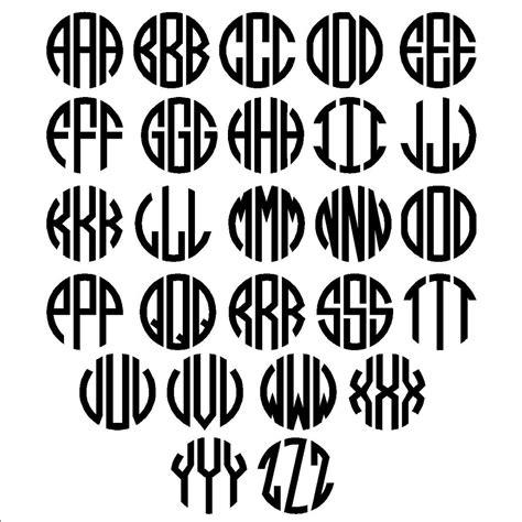 prices  celtic border monogram letters circle letters font car decals