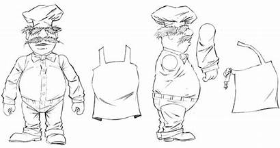 Chef Figure Action Swedish Muppet Muppets Sketch