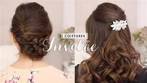 Coiffure Mariage Invitée : coiffures faciles invit e mariage bapt me youtube ~ Melissatoandfro.com Idées de Décoration