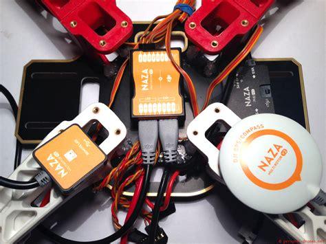 dji  naza  gps assembly personal drones