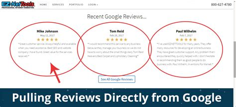 How To Display Google Reviews On Your Website In 2017