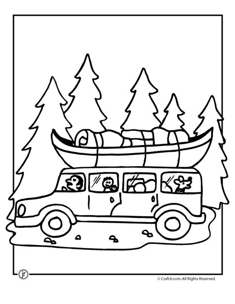 camping coloring pages coloring home