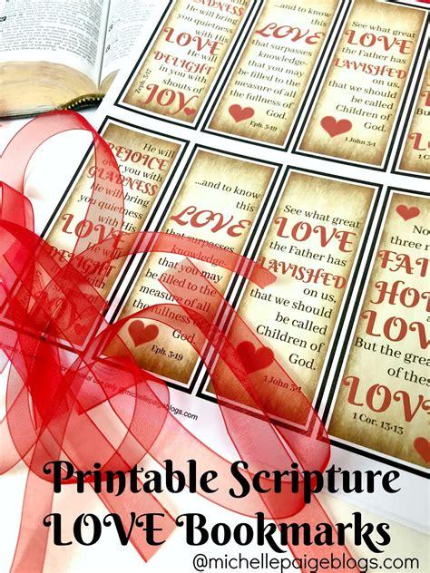 Michelle Paige Blogs Printable Scripture Verses For