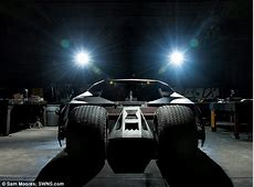Dark Knight Batmobile driven by Christian Bale replica
