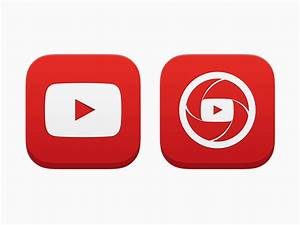 YouTube iOS App Icons by Andrew Janich - Dribbble
